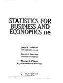 Statistics For Business And Economics Andersonsweeneywillams detail