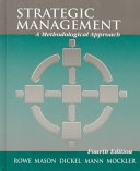Strategic Management A Methodological Approach None detail