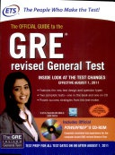 The Official Guide To The Gre Revised General Test With Cd By Educational Testing Service 20101125 - Educational Testing Service