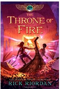 The Throne Of Fire Kane Chronicles  Rick Riordan detail