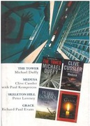 The Tower Medusa Skeleton Hill Grace - Michael Duffy Clive Cussler With Paul Kemprecos Peter Lovesey Richard Poul Evans