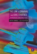 The Law Of Criminal And Civil Evidence Principles And Practice None detail