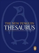 The New Penguin Thesaurus Penguin Reference Books S  None detail