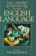 The Oxford Companion To The English Language Oxford Companion To English Literature None detail