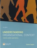 Understanding Organisational Context None detail
