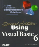 Using Visual Basic 6 Special Edition Special Edition Using None detail