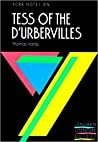 "York Notes On Thomas Hardys ""Tess Of The Durbervilles"" Longman Literature Guides None detail"