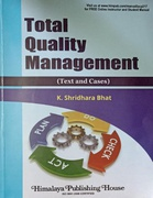 Total Quality Management Text And Cases K Shridhara Bhat detail